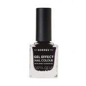 Korres Gel Effect Nail Colour No 76 Smokey Plum 11ml