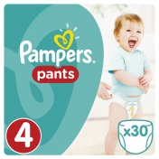 Pampers Pants No 4 Maxi 9-14kg 30τμχ