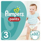 Pampers Pants No 3 Midi 6-11kg 32τμχ