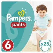 Pampers Pants No 6 Extra Large 16+ kg 25τμχ