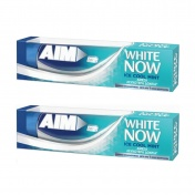 Aim White Now Ice Cool Mint 75ml 1+1 ΔΩΡΟ