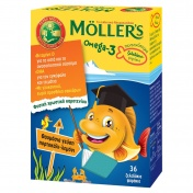 Moller's Omega 3 για Παιδιά 36 Ζελεδάκια Ψαράκια