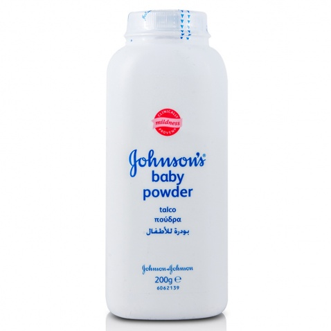 Johnson & Johnson Baby Powder 200gr