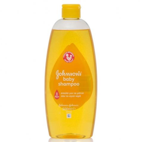 Johnson & Johnson Baby Shampoo 500ml