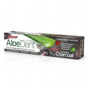 Optima Aloe Dent Triple Action Charcoal Toothpaste 100ml