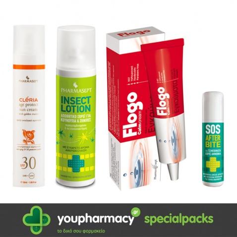Pharmasept Πακέτο Ολοκληρωμένης Καλοκαιρινής Προστασίας 3 56480