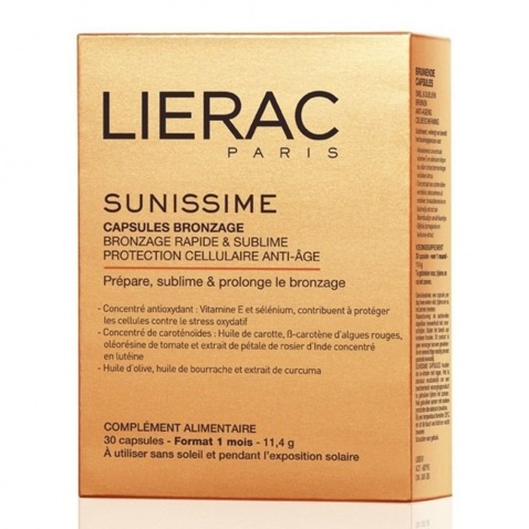 Lierac Sunissime Capsules Bronzage 30caps 56483