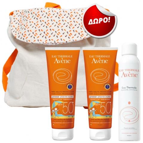 Avene Promo Pack Παιδικής Ηλιοπροστασίας Νο2 με ΔΩΡΟ Υπέροχη Τσάντα Θάλασσας 56521