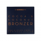 Korres Cocoa & Coconut Bronzer 01 Light Shade Πούδρα Μαυρίσματος 10g