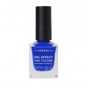 Korres Gel Effect Nail Colour 86 Ocean Blue 11ml