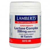 Lamberts Lactase Complex 350mg (9000 FCC) 60tabs