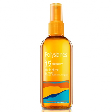 Polysianes Spray Huile Seche au Monoi SPF15 150ml αρχική   αντιηλιακα    σωμα