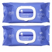 Uriage Duo Bebe 1st Cleansing Wipes 2x70τμχ