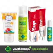 Pharmasept Πακέτο Ολοκληρωμένης Παιδικής Καλοκαιρινής Προστασίας 2