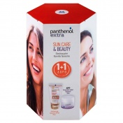 Panthenol Extra Promo Pack Sun Care & Beauty Sun Care Color SPF30 50ml & ΔΩΡΟ Face & Eye Cream 50ml