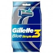 Gillette Blue3 Simple 4τμχ