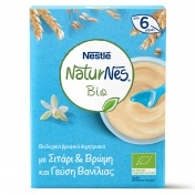 Nestle Naturnes Bio Βιολογικά Δημητριακά Με Βρώμη Με Γεύση Βανίλιας 240gr