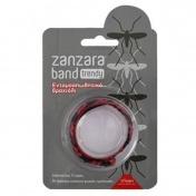 Vican Zanzara Band Trendy Bracelet Κόκκινο - Μαύρο 1τμχ