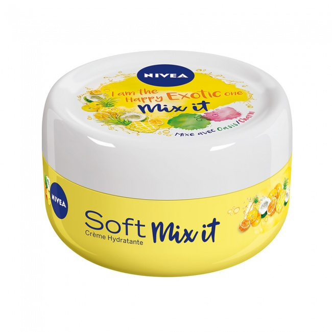 Nivea Soft Mix it Yellow Limited Edition Happy Exotic 50ml
