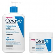 CeraVe Set Moisturising Lotion 473ml & Moisturising Cream 340ml