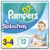 Pampers Splashers No 3-4 (6-11kg) 12τμχ
