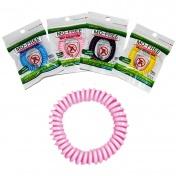 Vyte Mo-Free Mosquito Shield Αντικουνουπικό Βραχιόλι Σιλικόνης Ρόζ