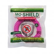 Menarini Mo-Shield Insect Repellent Band Απωθητικό Βραχιόλι για Κουνούπια Φούξια 1τεμ