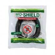 Menarini Mo-Shield Insect Repellent Band Απωθητικό Βραχιόλι για Κουνούπια Μαύρο 1τεμ