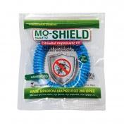 Menarini Mo-Shield Insect Repellent Band Απωθητικό Βραχιόλι για Κουνούπια Μπλε 1τεμ