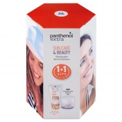 Panthenol Extra Promo Pack Sun Care & Beauty Sun Care Color SPF50 50ml & ΔΩΡΟ Face & Eye Cream 50ml
