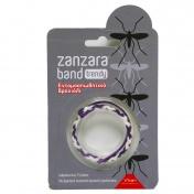 Vican Zanzara Band Trendy Bracelet Μωβ - Άσπρο 1τμχ