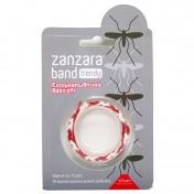 Vican Zanzara Band Trendy Bracelet Κόκκινο - Άσπρο 1τμχ