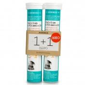 Korres Calcium & Vitamin D3 με γεύση Lime 18 eff tabs 1+1 ΔΩΡΟ