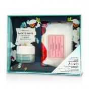 Korres Promo Back to Basics Almond Blossom Κρέμα για Λιπαρές / Μικτές Επιδερμίδες 40ml & ΔΩΡΟ Μαντηλάκια Καθαρισμού & Ντεμακιγιάζ με Ρόδι 25 Τμχ