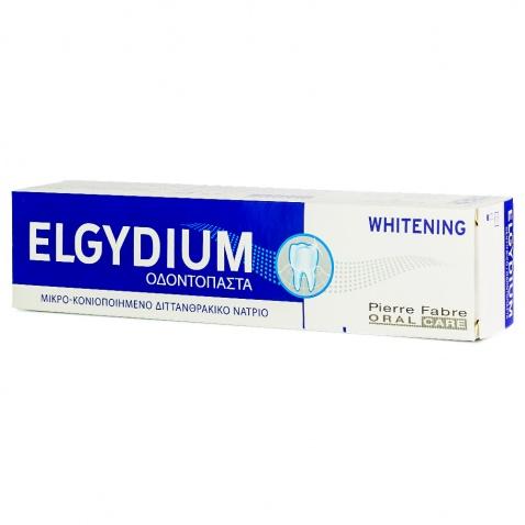 Elgydium Whitening Οδοντόκρεμα 75ml αρχική   προσωπικη φροντιδα   στοματικη υγιεινη   οδοντόκρεμες