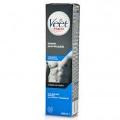 Veet Men Κρέμα Αποτρίχωσης για Στήθος και Πλάτη για Ευαίσθητη Επιδερμίδα 200ml