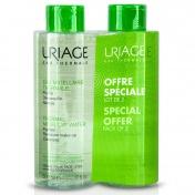 Uriage Promo Pack Eau Thermale Micellaire Water Oily Skin 500ml 1+1 ΔΩΡΟ
