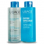 Uriage Promo Pack Eau Thermale Micellaire Water Normal & Dry Skin 500ml 1+1 ΔΩΡΟ
