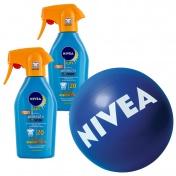 Nivea Σετ με 2 Sun Protect & Bronze Trigger Spray SPF 20 300ml & ΔΩΡΟ Μπάλα Θαλάσσης NIVEA