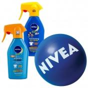 Nivea Σετ με 1 Sun Protect & Bronze Trigger Spray SPF 20 300ml & 1 Sun Kid's Trigger Spray SPF 50+ 300ml & ΔΩΡΟ Μπάλα Θαλάσσης NIVEA