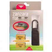 Vican Zanzara Flat Μπρελόκ Μαύρο & 2 Εντομοαπωθητικές Ταμπλέτες