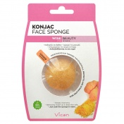 Vican Wise Beauty Konjac Face Sponge with Ginger Powder