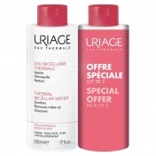 Uriage Duo Thermal Micellar Water for Sensitive Skin Sans Parfum 2x500ml