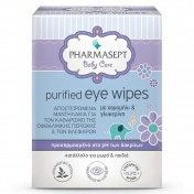 Pharmasept Baby Care Purified Eye Wipes 10pcs