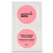 Panthenol Extra Sweet Almond Facial Scrub 2x8ml