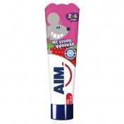 Aim Οδοντόκρεμα με Γεύση Φράουλα 2-6 Ετών  50ml