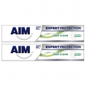 Aim Expert Protection Deep Clean Οδοντόκρεμα 75ml 1+1 ΔΩΡΟ