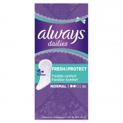 Always Dailies Fresh & Protect Normal 30τμχ.