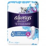 Always Discreet for Sensitive Bladder 5 Long Plus 8 Τμχ