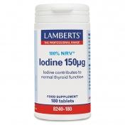 Lamberts Iodine 150μg 180tabs